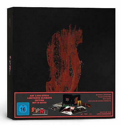 Suspiria - Ultimate Edition [4K Ultra HD + Blu-ray + Cd] New And Sealed!!