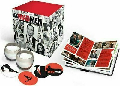Mad Men: The Complete Collection [Blu-ray + Box Set] New And Sealed!!