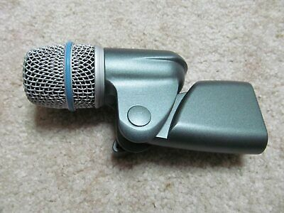 Shure Beta 56A XLR microphone (for instruments, snare, tom) dynamic mic
