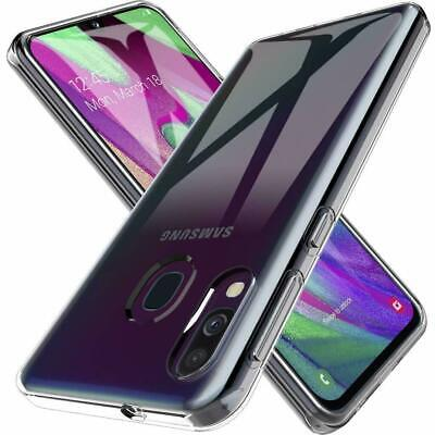 For Samsung Galaxy A20E 2019 Case Clear TPU Rubber Jelly Silicone Gel Cover