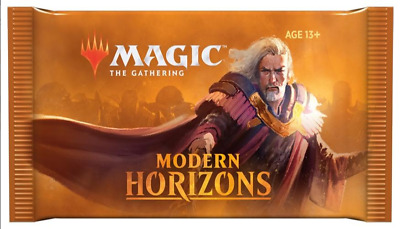 Magic: the Gathering MTG 6- MODERN HORIZONS- NEW SEALED BOOSTER PACK 15 CARDS