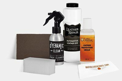 Professional Automotive Ford/Lincoln Leather and Vinyl Dye Kit - Updated Colors