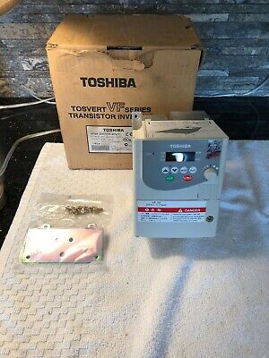New Toshiba VFS9-2007PM-WN Transistor Inverter 3 Phase 200/230V 50/60HZ
