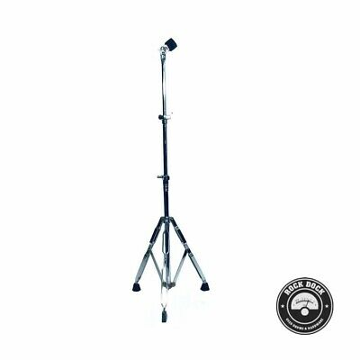 STANDS: Drum World, Adjustable Double Braced Cymbal Stand, Rock Dock, USED