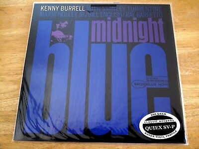 Classic Records Blue Note 84123 Kenny Burrell Midnight Blue STEREO LP SEALED 200