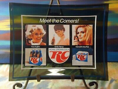 RC Cola - Meet The Comers! - Pam Austin, Emily Yancy Meredith MacRae - Vtg Plate