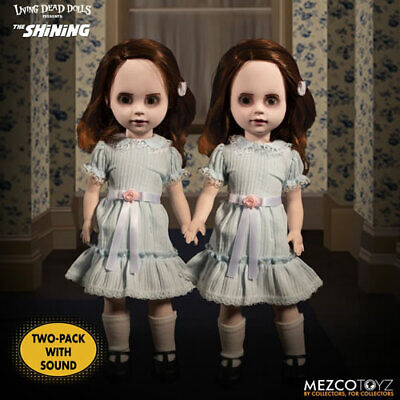 Mezco Living Dead Dolls Shining Grady Twins with Sound 2 Pack* PREORDER*