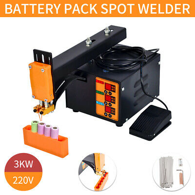 NEW Handheld Spot Welder Welding Machine for Mobile phone Battery 3kw 220V