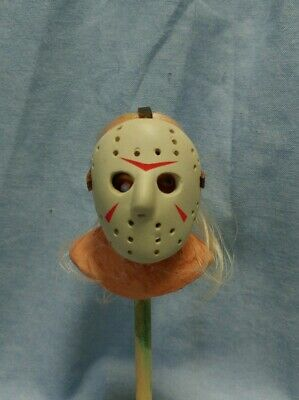 Custom 1/6 Jason Voorhees Friday The 13th 2009 Remake Head Sculpt And CleanMask