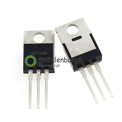 10Stks IRF540N IRF540 TO-220 N-Channel 33A 100V Power MOSFET