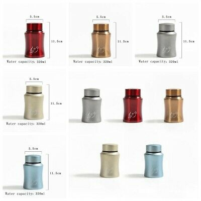1PC Airtight Smell Proof Container New Aluminum Herb Stash Jar New