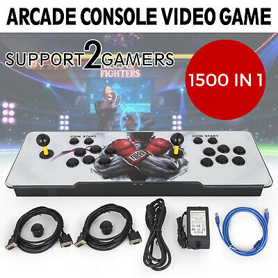 1500 in 1 Video Games Arcade Console Machine Double Stick Home Pandoras Box 9s