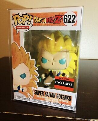 Super Saiyan Gotenks AAA Anime Exclusive Funko POP! Dragon Ball Z 622 *Protector