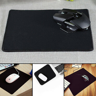 Extended Game Gaming Large Mouse Pad 240x320mm Big Size Desk Mat Black Anti-Slip