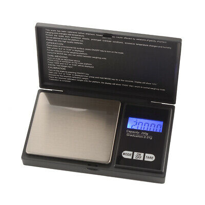 Digital Pocket Weighing Mini Scales LCD Display for Jewlery / Kitchen 200g TE822
