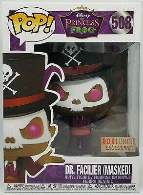 Funko Pop + Protector! Disney #508 - Princess and the Frog - Dr. Facilier