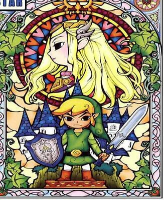 5D Diamond Painting Full Drill round/ square variations Legend Of Zelda 7 sizes