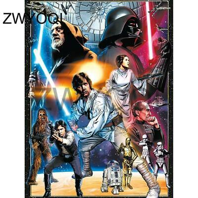 """5D DIY Diamond embroidery Painting Kits -Full Square / Round """"Star Wars"""""""