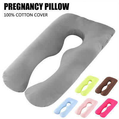 U-Shaped Maternity Pregnancy Pillow Breastfeeding Nursing Body Support Sleeping