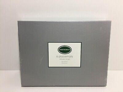 Portmeirion Botanic Gardens 6 Place Mats Boxed