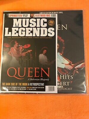 Queen Greatest Hits In Concert Ltd Edn WHITE VINYL LP CPLVNY336