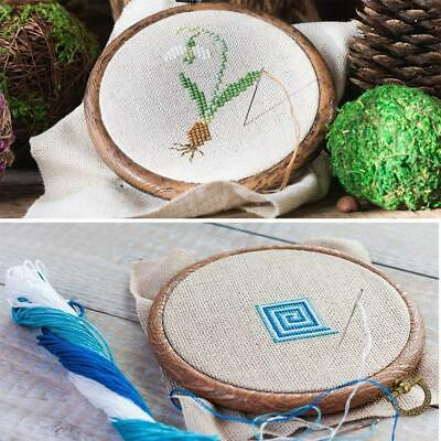 Wooden Embroidery Hoops Cross Stitch Ring Hoop Frames Sewing Tool - 4 Sizes New