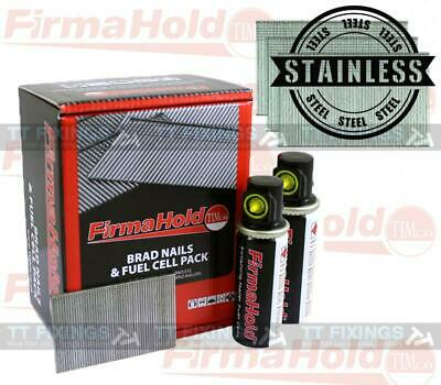 Firmahold 16g Straight Stainless Steel Brad Nails Brads Paslode Compatible IM65