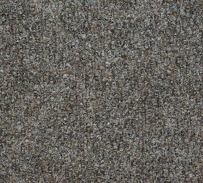 COMMERCIAL carpet Brown Gel Back 2m Wide Carpet Remnant/Roll End CONTRACT