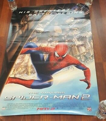 The Amazing Spider-Man 2 Signed Poster, Andrew Garfield, Emma Stone, Stan Lee
