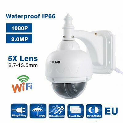 1080P Ip Camera P2P Telecamera Wireless Wifi Ptz Ir Infrarossi Dome Per Esterno