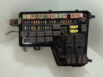 dodge 02-05 ram 1500 totally integrated power module fuse box 56049011ag  tipm