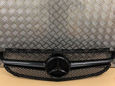 Mercedes W205 C Class C63 Style Grille Amg Sport Black Coupe Saloon Cabrio