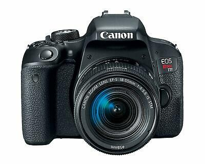 Canon EOS Rebel T7i EF-S with 18-55mm IS STM Lens Kit