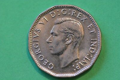 Canada 5 cents 1945 superb UNC (my opinion) condition. Very nice one !