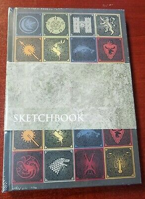 Game of Thrones HBO Sketchbook CultureFly Target NEW RARE