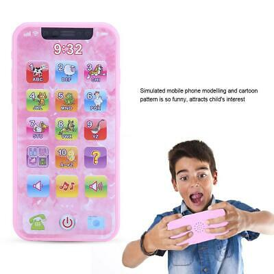 Kids Music Phone Toy Cell Phone Touch Screen Educational Learning Child Gift
