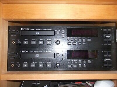 1 Of These DENON DN-C635 Broadcast Quality Rack CD Players. Good Condition.