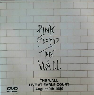 PINK FLOYD THE WALL /LIVE AT EARL'S COURT - August 9th (1980) - 2 CD/DVD SET