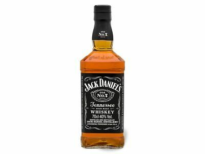 6 Fl. Whisky JACK DANIEL'S Old N°7 Tennessee Whiskey 0,7 Ltr. 40% Vol 6 Flaschen