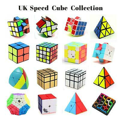 New AU 2x2 3x3 4x4 5x5 Magic Speed Cube Twist Pyramid Mirror Puzzle Rubikx Cube
