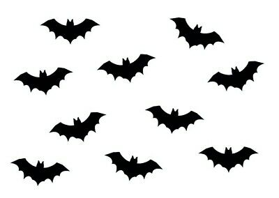10x Iron-On Patch Iron-On Patches Patch Patch Miniblings 35mm Smooth Bat Vampire