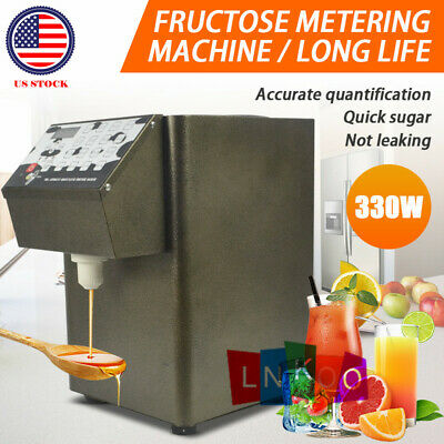110V 330W Fructose Quantitative Machine Fructose Dispenser Bubble Tea Equipment