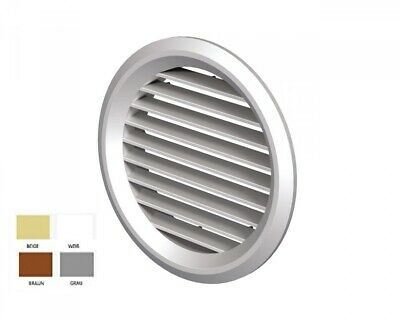 Exhaust Air Supply Air Vent Vents Mv 150 Bvs round Various Colours