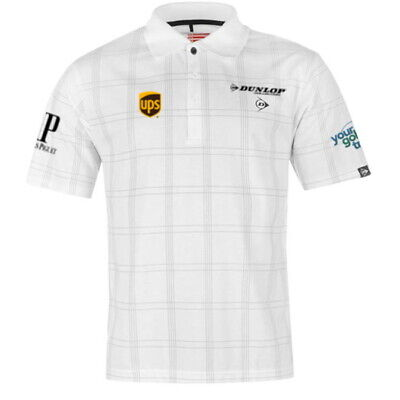 Dunlop Golf Polo Tour with logos - Lee Westwood Design