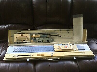 BROTHER KH-830 Knitting Machine + Lace Carriage, ETC COMPLETE