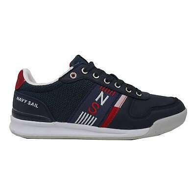 nuovo stile 303d9 dc5b1 SNEAKERS NAVY SAIL by NAVIGARE Scarpe Uomo Basse 917050 BLU