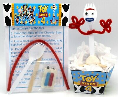 Make Your Own Forky Toy Story 4  Diy Kit Including A Special I'm Trash Bin