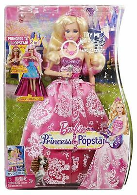 The Princess & The Popstar Singing Doll Barbie - Out Of Battery But Supplied
