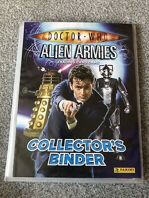Dr Who Alien Armies Collector Cards And Binder