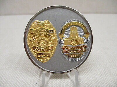 San Diego, Ca Police Department Challenge Coin, Old Issue